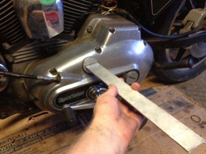 harley primary cover plug tool